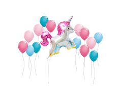 Unicorn kids party balloons https://www.etsy.com/ca/listing/490595893/unicorn-balloon-jumbo-38-unicorn-balloon