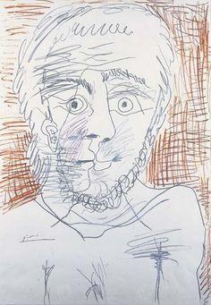 Tête d`Homme, 1972|© Pablo Picasso