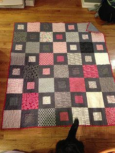 Mama Said Sew quilt- easy layer cake pattern    Frecklemama, via Flickr