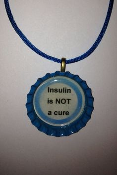 Insulin is Not A Cure World Diabetes Day by DoubleDutyT1DMOM, $5.00