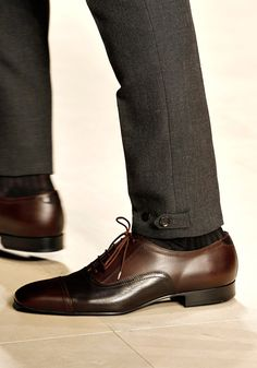 Its Gotta Be the Shoes: The 100 Best Pairs from Fashion Week - Men Dress Shoe - Ideas of Men Dress Shoe - Hey there good lookin. Just need some stylish socks peeking out from those shoes and it's a match made in heaven. Me Too Shoes, Men's Shoes, Shoe Boots, Dress Shoes, Burberry Prorsum, Burberry Men, Sharp Dressed Man, Well Dressed Men, Mode Man