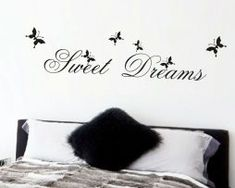 Cheap stickers home decor, Buy Quality sweet dreams directly from China wall stickers home decor Suppliers: hot sell sweet dream quotes wall stickers home decorations living bedroom diy decals mural arts printing poster paper Wall Stickers Quotes, Wall Stickers Home Decor, Wall Stickers Murals, Wall Decals, Chalkboard Stickers, Sweet Dream Quotes, Floor Stickers, Dream Wall, Butterfly Wall Stickers