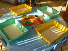 Irresistible Ideas for play based learning » Blog Archive » Teacher Tom's ping pong art