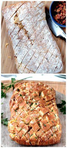 Bacon Ranch Pepper Jack Pull Apart Bread Recipe