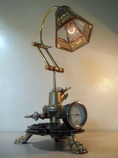 Upcycled Recycled Repurposed Industrial Lamp in Hancock, Cape Coral ~ Apartment Therapy Classifieds