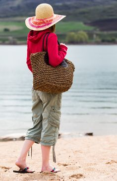 Pack It In - Straw Bag
