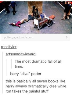 Find images and videos about funny, harry potter and harry on We Heart It - the app to get lost in what you love. Harry Potter Comics, Harry Potter Puns, Harry Potter Cast, Harry Potter Universal, Harry Potter Characters, Harry Potter World, Harry Potter Tumblr Funny, Hogwarts, Slytherin