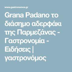 Grana Padano το διάσημο αδερφάκι της Παρμεζάνας - Γαστρονομία - Ειδήσεις | γαστρονόμος