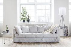 Sohvalle uusi pellavapuku