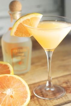 Introducing the Pale Island Sky, a cocktail with freshly squeezed Ruby Red grapefruit juice, vodka, triple sec orange liqueur and coconut water.
