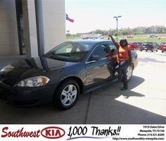 #HappyBirthday to Linda Houston from Jacy Jackson at Southwest Kia Mesquite!