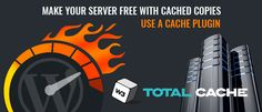 Use WP Super Cache or W3 Total Cache Plugin