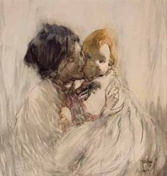 For Mothers Day - Frances Hodgkins 'Mother and Child'