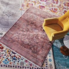Ochre, rust and emerald: gather around our Fall home rug assortment   Shop Anthropologie