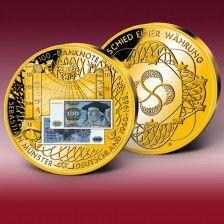 """BanknotenPrägung """"100 DMSchein Clara Schumann 1989"""