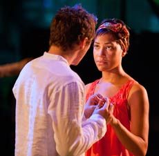 Ben Batt (Orlando) and Cush Jumbo (Rosalind) in As You Like It at the Royal Exchange, Manchester Cush Jumbo, Short Hair Cuts, Short Hair Styles, Like You, Manchester, Orlando, Theatre, Bob Styles, Theater