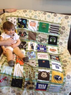 baby clothes quilt 35 items by kellycreations123 on Etsy