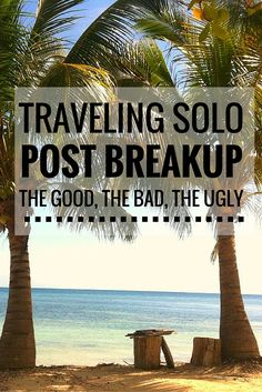 BREAKUPS. THEY CAN BE HARD.  Breakups. They can be hard.They can be a time when you go on a mission of self-discovery, reinvent yourself, lose 20 lbs, or travel the world solo.