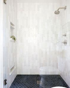 Guest Bathrooms, Small Bathroom, Bathroom Ideas, Bath Ideas, Master Bathroom, Master Shower, Modern Bathrooms, Bathroom Inspo, Bathroom Remodeling