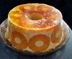 Pudim de Ananás - Fica tão bom Flan Recipe, Tiramisu Recipe, Portuguese Desserts, Portuguese Recipes, Sweet Recipes, Cake Recipes, Dessert Recipes, Food Cakes, Pudding Pies