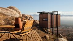 Luxury cabins on stilts in Mexico [Tijuana's Jorge Gracia designs freestanding hotel rooms with a modern edge.]