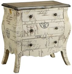 Chests Petite Bombe Chest 3/ Drawers by Stein World - Wolf Furniture