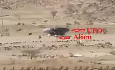 Camera Capture Alien Landing a UFO or military vehicle in Saudi Arabia?
