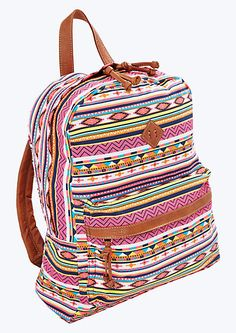 image of Neon Southwest Backpack- 21.99