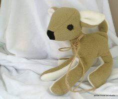 deer stuffed animal lovie