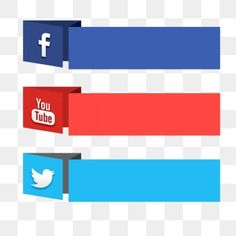 Powerpoint Background Templates, Youtube Banner Backgrounds, Social Png, Social Icons, Social Media Buttons, Social Media Banner, Banner Background Images, Logo Background, Logo Youtube
