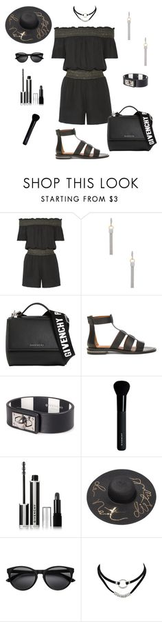 """""""Rachel Zoe Playsuit"""" by marlaj-50 ❤ liked on Polyvore featuring Rachel Zoe, Alexander Wang and Givenchy"""