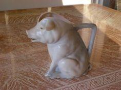 Royal Bayreuth Pig Creamer