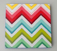 Reminds me of Laura Welch, who I can't tag because she doesn't follow me [YET]. Because we talked about the chevron pattern tonight.