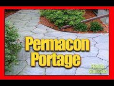 Pave uni Permacon Portage Uni-Stone installation in the West Island of M...