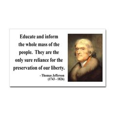 Sums up the importance our founding fathers placed on education.