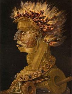 Le Feu, par Giuseppe Arcimboldo