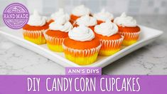 Easy Candy Corn Cupcakes  - HGTV Handmade
