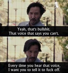 To The Bone Keanu Reeves Lily Collins I agree thanks. To The Bone Quotes, Bones Quotes, Quotes To Live By, Film Quotes, Wisdom Quotes, Best Movie Quotes, Amazing Quotes, Great Quotes, John Wick