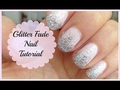 Glitter Fade/Ombre Nail Tutorial - http://47beauty.com/nails/index.php/2016/08/14/glitter-fadeombre-nail-tutorial/  http://47beauty.com/nails/index.php/nail-art-designs-products/  This video shows you how to get a beautiful glitter fade or ombre nail effect. It would be perfect for a bride for her wedding day, prom, a party or just when you feel like being fancy!  ———————————————&#82