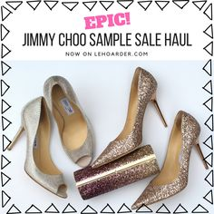My EPIC Jimmy Choo NYC Sample Sale Haul!