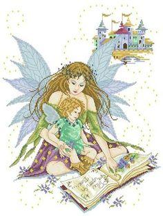 WANT to do  Fairy Enchantment - Joan Elliott - Cross Stitch Pattern