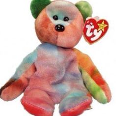 A comforting bear to give to a scared kiddo Beanie Bears 9c018b09335c
