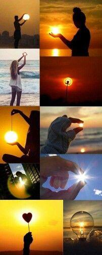 El sol en tus manos. Tu sabes como vez tu dia