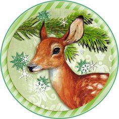 Digi stemple by AliceCreations: Nadal w świątecznym klimacie :) Christmas Deer, Christmas Animals, Christmas Pictures, All Things Christmas, Vintage Christmas, Christmas Crafts, Christmas Ornaments, Christmas Templates, Christmas Clipart