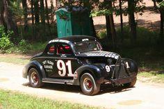 Tim Flock Classic Race car