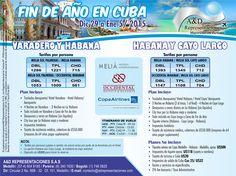 Fin de Año en #Cuba - Viaje a la isla cubana www.adrepresentaciones.com