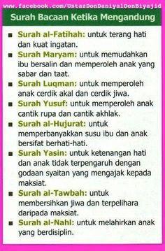 Surah Bacaan Ketika Mengandung... :) Reminder Quotes, Self Reminder, Mom Quotes, Daily Quotes, Words Quotes, Hijrah Islam, Doa Islam, Quran Quotes Inspirational, Motivational Words