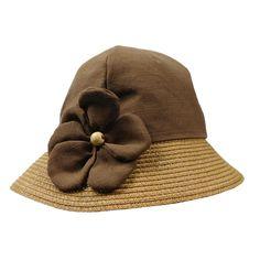 d2ac2acae8341 Linen Summer Cloche. Summer Hats For WomenFlower ...