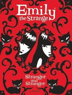 I read the first Emily the Strange book and I loved it. I couldn't put it down. If you're unfamiliar with it, it's like a cross between a novel and a graphic novel full of crazy cats and a strange girl who is full of mysteries.