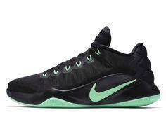 Nike Hyperdunk 2016 Low EP Black Green Glow (844364-030) - RMKstore